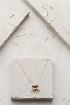 idea for construction  Sunshadow Necklace #anthropologie