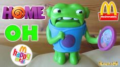 Oh Toy Home Funny aliens Oh Figure Happy Meal McDonald's