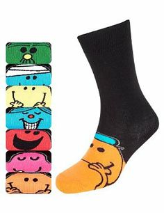 Mr. Men socks