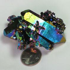q1914 - Rainbow Aura Burr