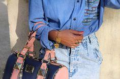 Total LOOK denim - Fashion Blog / LOOK total jeans - Blog mode // www.pompompidou.com