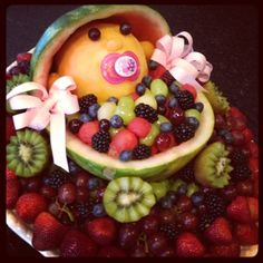 the third boob: baby shower fruit salad