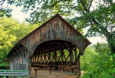 #SundayRiver Bridge also known as the Artists' Covered Bridge. #Maine #happyplace