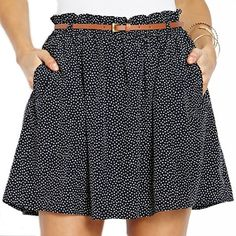 Forever 21 Dotted Skirt
