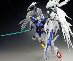 [WORK REVIEW] Hi-Resolution Model HiRM 1/100 WING GUNDAM ZERO EW painted build. No.25 Big Size Images | GUNJAP