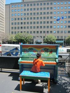 Josh's Blog: Day 2 - More Toronto Street Pianos!