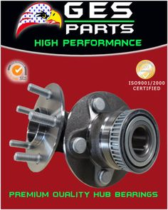 2-NEW-Rear-Left-Right-Wheel-Hub-and-Bearing-Chrysler-PT-Cruiser-Dodge-512167