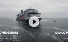 La Lancha del práctico del puerto es uno de los gratos acompañantes de todo viaje en crucero.Hoy las vemos en acción en este gran vídeo desde drone.