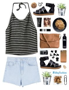 """""""AllhqFashion 10"""" by novalikarida ❤ liked on Polyvore featuring CO, Pieces, H&M, Givenchy, Aesop, NARS Cosmetics, Sennheiser, women's clothing, women and female"""
