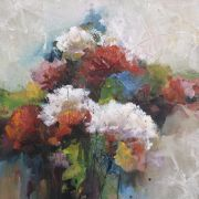 Original art for sale at UGallery.com | Bouquet by Karen Hale | : $350 | acrylic painting | http://www.ugallery.com/acrylic-painting-bouquet...
