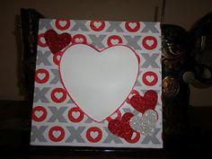 Valentine's Frame  details at redeyecrafts.blogspot.com