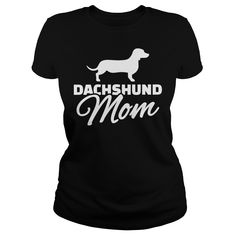 Dachshund T-Shirts, Hoodies. VIEW DETAIL ==► https://www.sunfrog.com/Pets/Dachshund-93370830-Black-Ladies.html?id=41382
