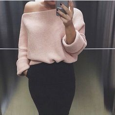 Ombro a ombro suéter
