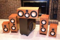 Swope HT - Home Theater DIY speakers, customize and make it a 7.2 system