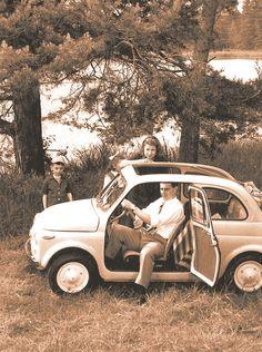 La vecchia Fiat 500 presentata come l'utilitaria ideale per le ...
