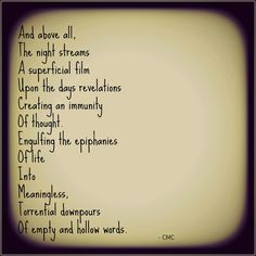 Meaningless Review. #poetry #poem #life #courtneymarie #depression