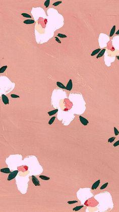 Ideas For Artsy Wallpaper Iphone Art Trendy Wallpaper, Pink Wallpaper, Pattern Wallpaper, Cute Wallpapers, Wallpaper Backgrounds, Vintage Backgrounds, Phone Backgrounds, Iphone Wallpapers, Flower Backgrounds