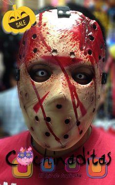 Nuestros máscaras y accesorios de temporada están volando ¿ya tienes tu disfraz listo? #HalloweenEnCochinaditas