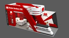 Exhibiton Stand Design for Bhatia Brothers. Exhibition Plan, Exhibition Stall Design, Exhibition Space, Exhibit Design, Exhibition Stands, Stand Design, 3d Design, Single Floor House Design, Expo Stand