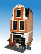 Modular Amsterdam Style Canal House: A LEGO® creation by Danil 1 : MOCpages.com
