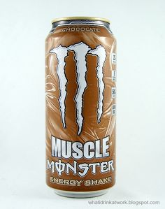 Monster Muscle Energy Shake Chocolate Review