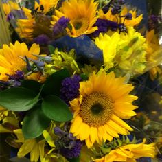 Sunflowers at our 10th & Reed Store #ACME #Sunflowers
