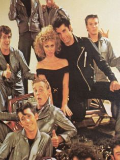 Original Vintage Cast Picture from Grease 1978 by KathysCornerShop, $24.95