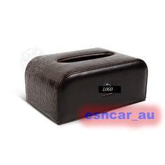 Brown 100% Leather Tissue Box Cover For Mercedes Benz S65 E63 C63 G63 CLS63 C E…