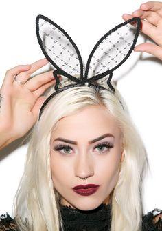 Play With Me Bunny Headband   Dolls Kill