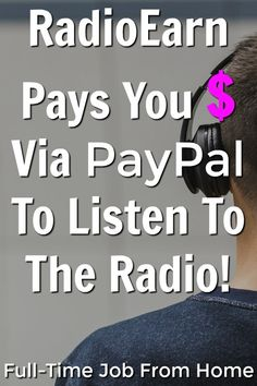 Learn How You can Make Money Online By Listening To The Radio. Marketing Program, Marketing Jobs, Affiliate Marketing, Work From Home Jobs, Make Money From Home, Make Money Online, Ways To Earn Money, Way To Make Money, Money Fast