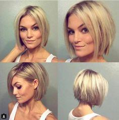 Hou jij van blond en bob? Bekijk hier 10 schitterende blonde bobjes! - Kapsels voor haar