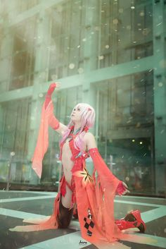 Guilty Crown Inori Yuzuriha - CN Kappy Ng Cosplayer Saikang - CN Rignet/Rigianna © Aozora Photography. All Right Reserved