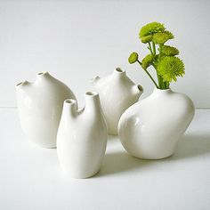 Vita Vase collection by Michiko Shimada