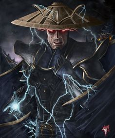 Mortal Kombat x Raiden Variation Thunder God Been busy. Mortal Kombat X Raiden Thunder God Raiden Mortal Kombat, Mortal Kombat Art, Scorpion Mortal Kombat, Gi Joe, Lord Raiden, Claude Van Damme, Minions, Tribute Tattoos, Mundo Dos Games