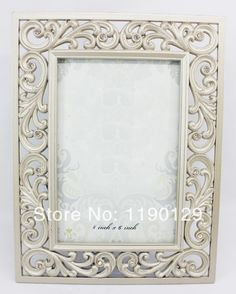 Picture frames vintage metal alloy ornament home photo frame for ...