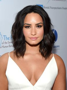 Demi Lovato Lookbook: Demi Lovato wearing Medium Wavy Cut (24 of 26). Demi Lovato framed her face with perfectly styled waves for the Open Mind Gala.