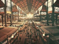 Central Market Hall of Budapest