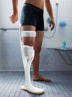 Lytra is an affordable prosthetic leg that allows below knee amputees to take shower freely and clean their residual limb safely. Lytra allows the bottom of the limb to be exposed in air for amputees to get a full-decent wash in the shower.