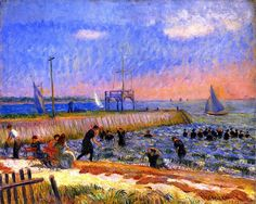 Bathers, Bellport, No.1  by William James Glackens (USA)
