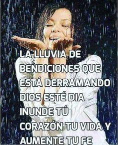 Devocional 29/06/2017. La lluvia de bendiciones que esta derramando Dios este día inunde tu corazón tu vida y aumente tu fe.