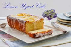 Saving room for the best parts of life! Amazing desserts – delicious mains – healthy treats – easy to read recipes – and adventurous travel Sweet Recipes, Cake Recipes, Dessert Recipes, Lemon Yogurt Cake, Easy Bake Oven, Most Delicious Recipe, Different Cakes, Just Cakes, Dessert Bread
