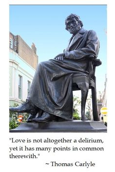 Thomas Carlyle on Love