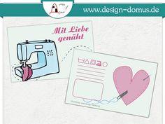 Hängeetikett mit Pflegesymbolen. Erhältlich bei:  http://shop.design-domus.de/Geschaeftsausstattung/Textilkennzeichnungen/Textilkennzeichnung-Mit-Liebe-genaeht::26.html