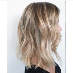 How many shades of blonde do you see here? The blend is flawless! …