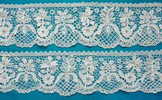 My choice for best lace from the 9/4/2016 Ebay Alerts. Youghal needlelace border.