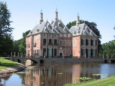Duivenvoorde Castle, Netherlands. It was first mentioned in 1226, making it one of the oldest castles in South Holland.