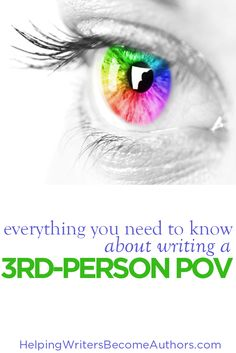 Third-person POV is one of the most flexible and powerful points of view in fiction. Learn to master it--especially deep third--with these four tips.