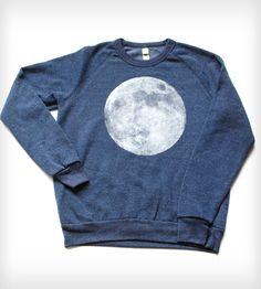 Full Moon Sweatshirt - Navy Heather