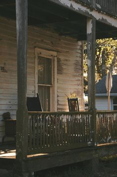 """pspo: """" It's hard to deny the appeal of a good porch. Augustine, Florida March, 2013 """" For real, though. Country Life, Country Living, Country Charm, Country Strong, American Gothic, American Country, Southern Gothic, Exterior, The Ranch"""