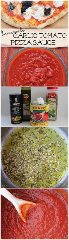 Garlic Tomato Pizza Sauce